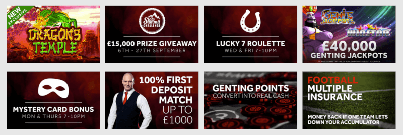 Genting Casino promotions