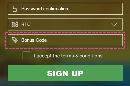 BitStarz - Sign Up