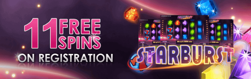 Videoslots 11 Free Spins
