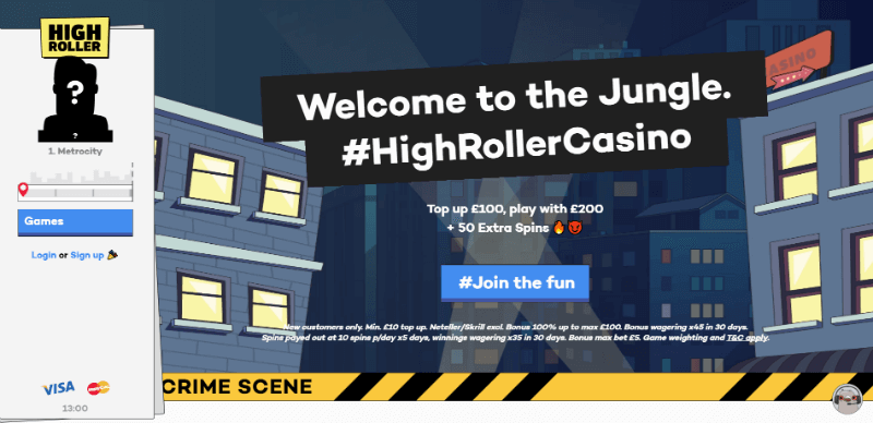 highroller website