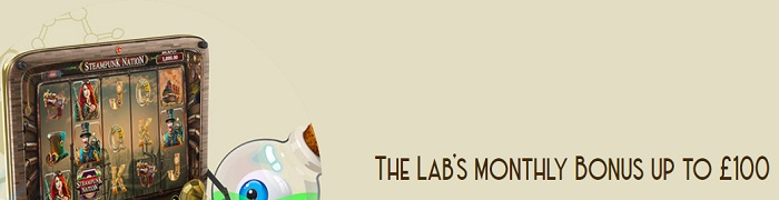 The Lab's Monthly Bonus